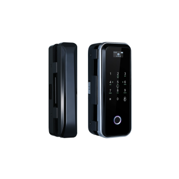 ALFL-06BW биометрический замок с кодонаборной панелью, сканером отпечатка пальца и считывателем карт