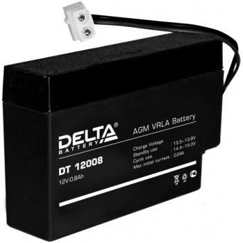Свинцово кислотный аккумулятор Delta DT 12008