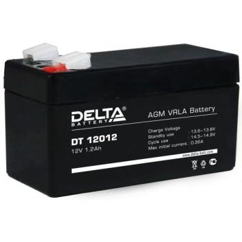 Свинцово кислотный аккумулятор Delta DT 12012