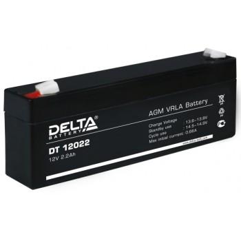 Свинцово кислотный аккумулятор Delta DT 12022