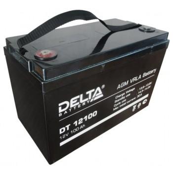 Свинцово кислотный аккумулятор Delta DT 12100