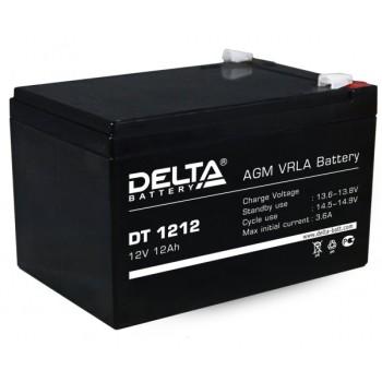 Свинцово кислотный аккумулятор Delta DT 1212