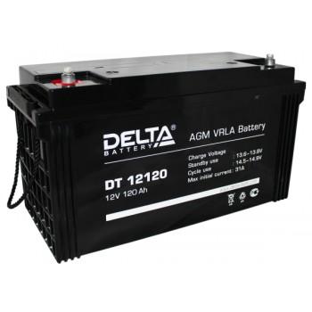 Свинцово кислотный аккумулятор Delta DT 12120