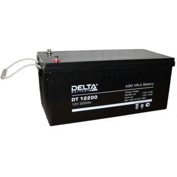 Свинцово кислотный аккумулятор Delta DT 12200
