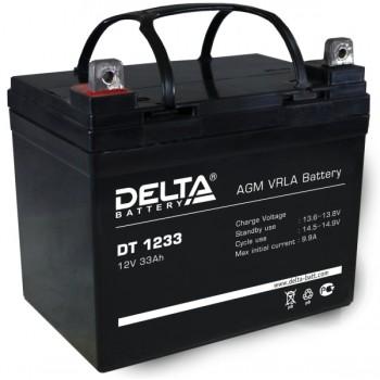 Свинцово кислотный аккумулятор Delta DT 1233