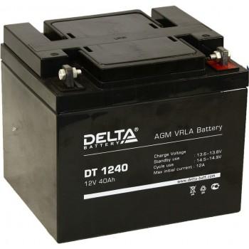 Свинцово кислотный аккумулятор Delta DT 1240