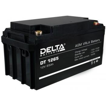 Свинцово кислотный аккумулятор Delta DT 1265