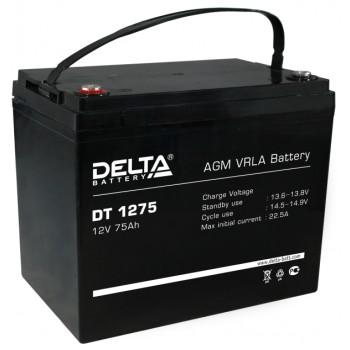 Свинцово кислотный аккумулятор Delta DT 1275