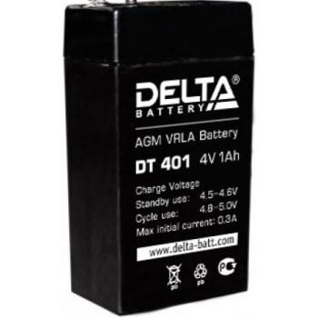 Свинцово кислотный аккумулятор Delta DT 401