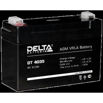 Свинцово кислотный аккумулятор Delta DT 4035