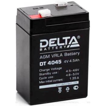 Свинцово кислотный аккумулятор DeltaDT 4045
