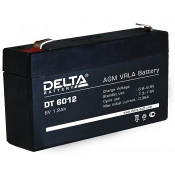 Свинцово кислотный аккумулятор Delta DT 6012
