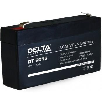 Свинцово кислотный аккумулятор Delta DT 6015