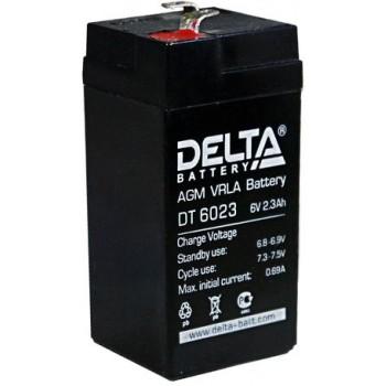 Свинцово кислотный аккумулятор Delta DT 6023