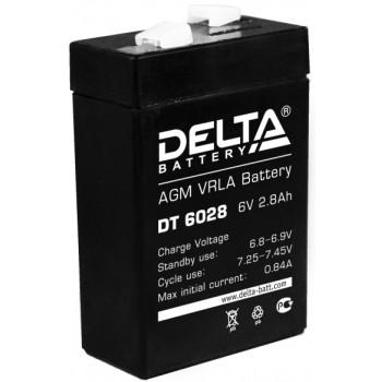 Свинцово кислотный аккумулятор Delta DT 6028
