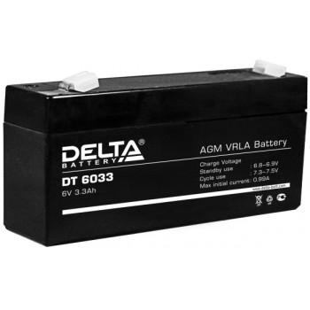 Свинцово кислотный аккумулятор Delta DT 6033