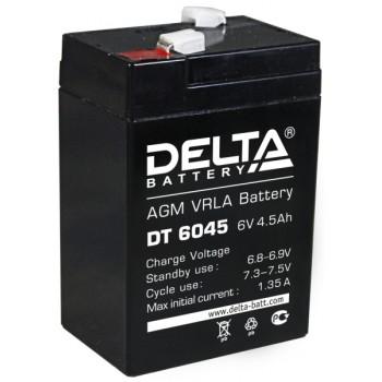 Свинцово кислотный аккумулятор Delta DT 6045