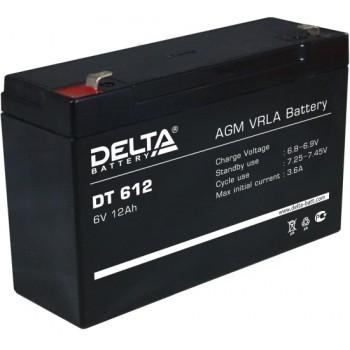 Свинцово кислотный аккумулятор Delta DT 612