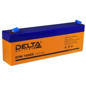 Свинцово кислотный аккумулятор Delta DTM 12022