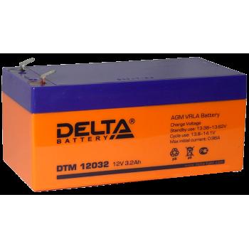 Свинцово кислотный аккумулятор Delta DTM 12032