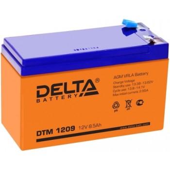Свинцово кислотный аккумулятор Delta DTM 1209