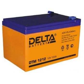 Свинцово кислотный аккумулятор Delta DTM 1212