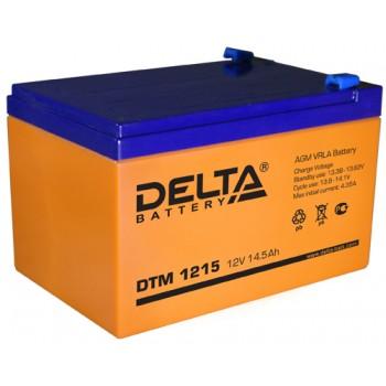 Свинцово кислотный аккумулятор Delta DTM 1215