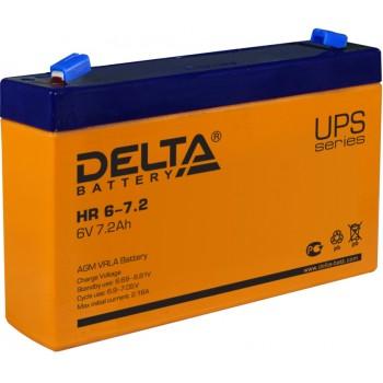 Свинцово кислотный аккумулятор Delta HR 6-7.2
