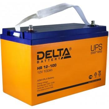 Свинцово кислотный аккумулятор Delta HR 12-100