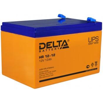 Свинцово кислотный аккумулятор Delta HR 12-12