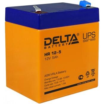 Свинцово кислотный аккумулятор Delta HR 12-5