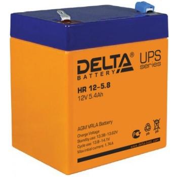 Свинцово кислотный аккумулятор Delta HR 12-5.8