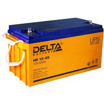 Свинцово кислотный аккумулятор Delta HR 12-65