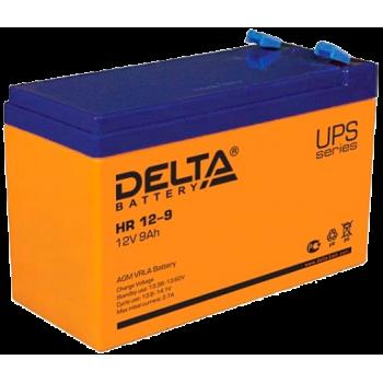 Свинцово кислотный аккумулятор Delta HR 12-9