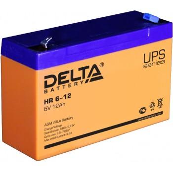 Свинцово кислотный аккумулятор Delta HR 6-12