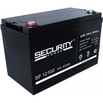 Свинцово кислотный аккумулятор Security Force SF 12100
