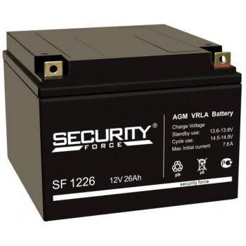 Свинцово кислотный аккумулятор Security Force SF 1226
