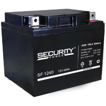 Свинцово кислотный аккумулятор Security Force SF 1240
