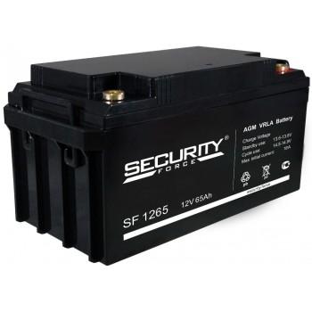 Свинцово кислотный аккумулятор Security Force SF 1265