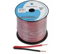 Акустический кабель Cabletech 2х0.50 мм2