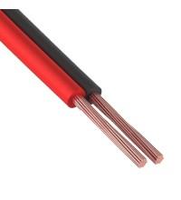 Акустический кабель Netko 2х0.35 мм2, черный/красный