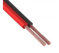 Акустический кабель Netko 2х0.25 мм2, черный/красный