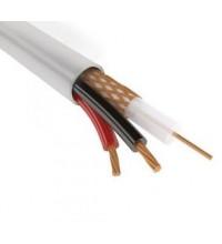 КВК-В-2Э 2x0.75 мм2, 75 Ом  кабель комбинированный