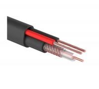КВК-П-2Э 2x0.75 мм2, 75 Ом, outdoor кабель комбинированный