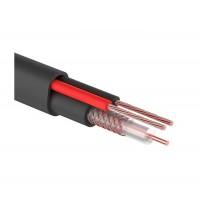 КВК-П-1,5  2x0.50 мм2, 75 Ом, outdoor кабель комбинированный