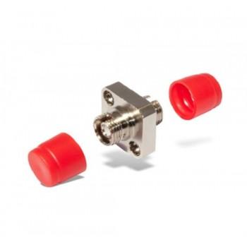 Оптический проходной адаптер FC/UPC-FC/UPC SM, simplex с квадратным фланцем
