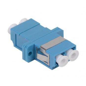 Оптический проходной адаптер LC/UPC-LC/UPC SM, duplex