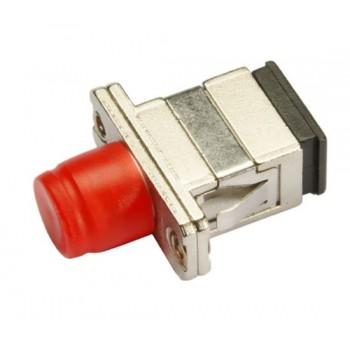 Оптический проходной адаптер SC/UPC-FC/UPC SM, simplex