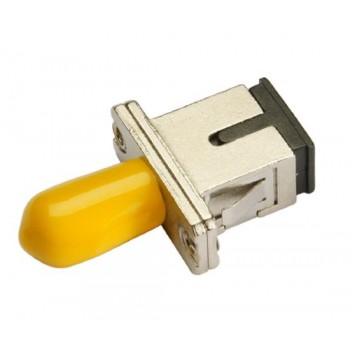 Оптический проходной адаптер SC/UPC-ST/UPC SM, simplex