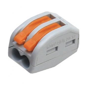 BLOX 2x0.08-4/2.5 мм2 - универсальная клемма с зажимами для 2-х проводов